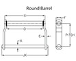 Welded Steel Round Barrel